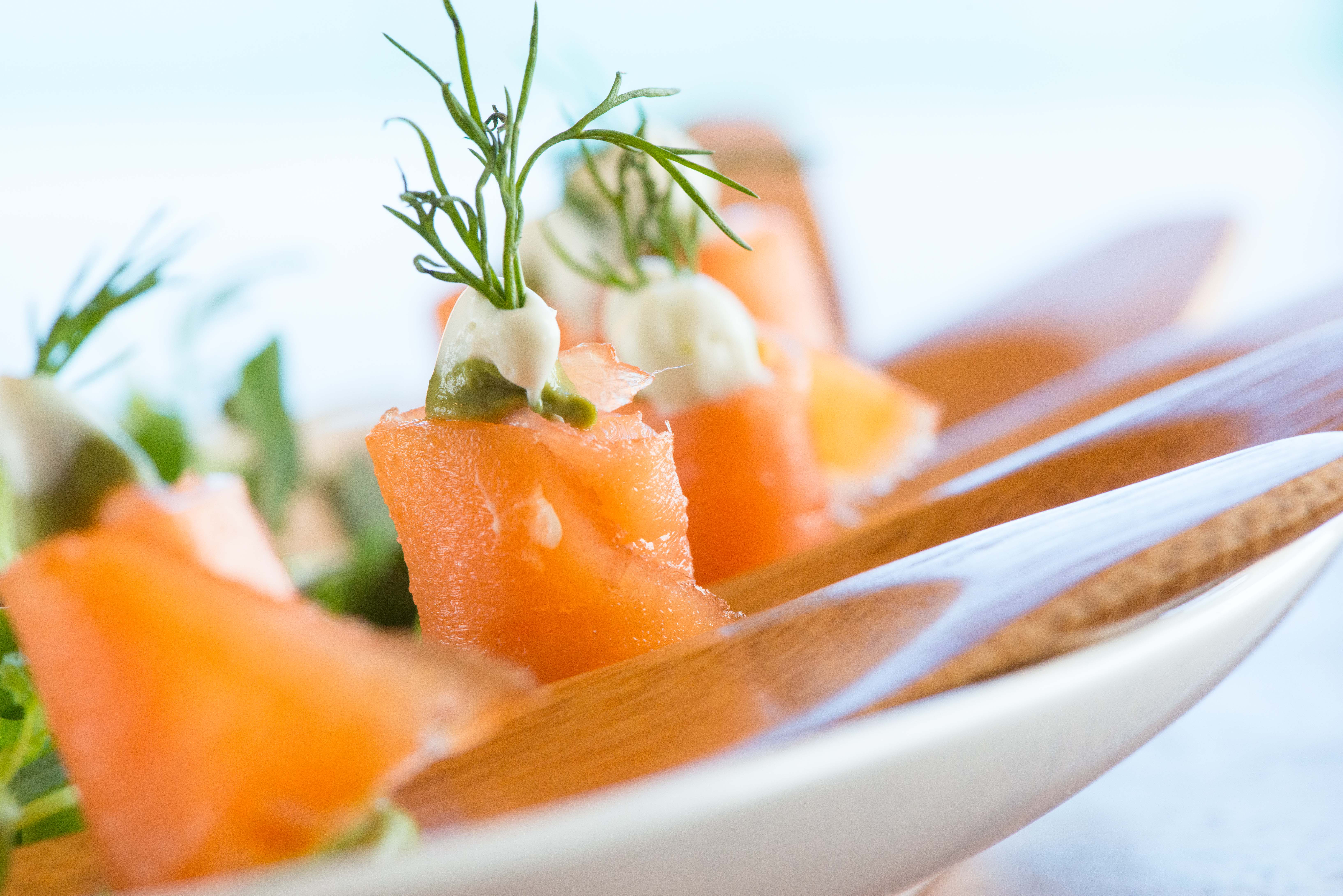 Citrus and Herb-Marinated Salmon